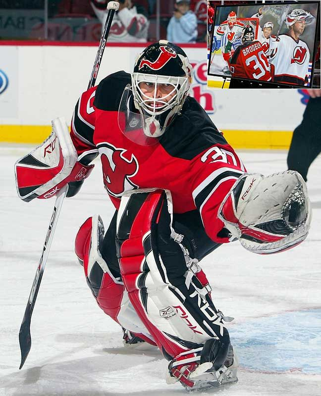 Martin Pierre Brodeur Born May 6 1972 Is A Canadian Ice Hockey