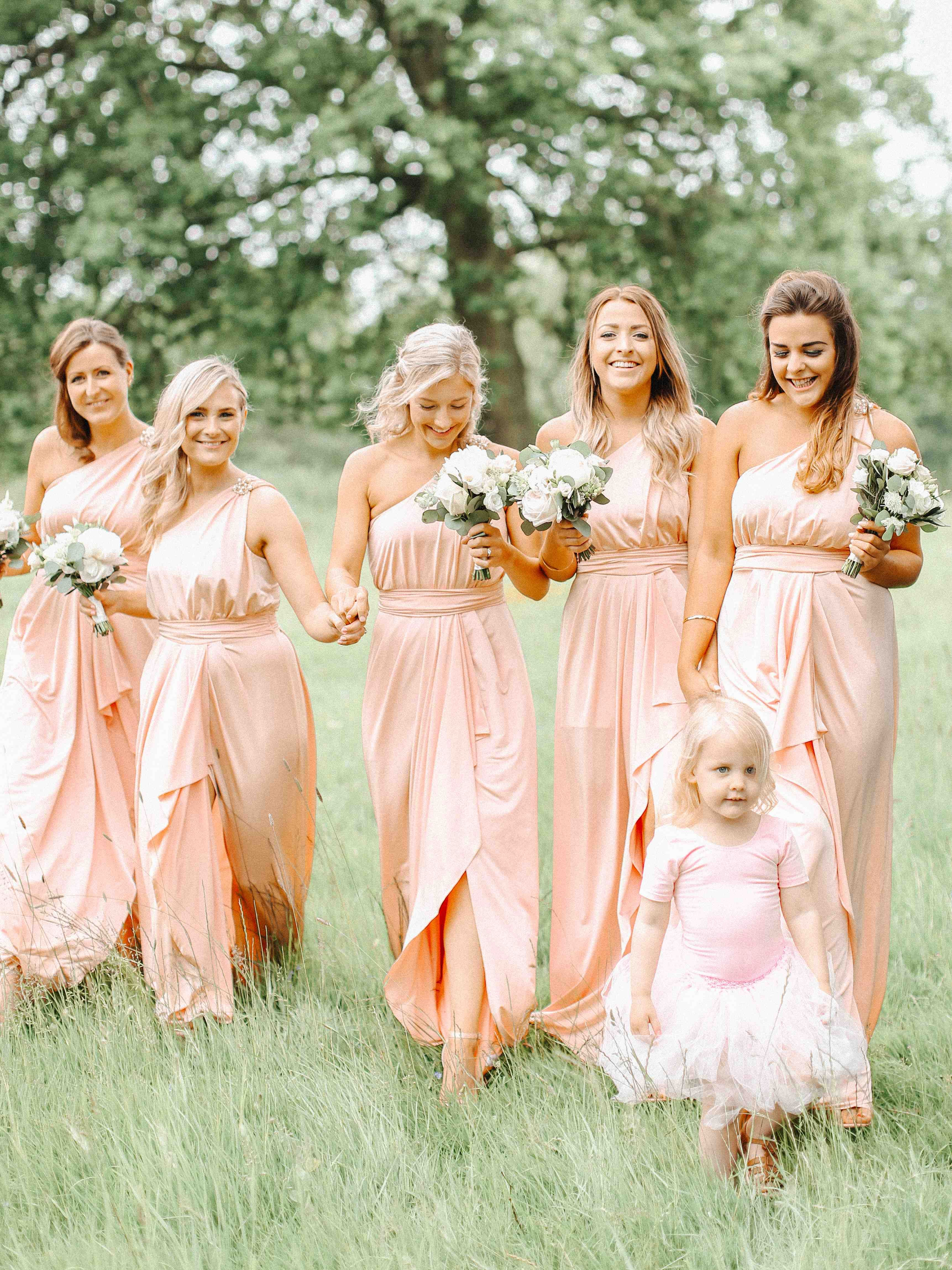 Spring silchester house wedding with blush white gold colour blush pink asos bridesmaid dresses belle and beau fine art photography ombrellifo Images
