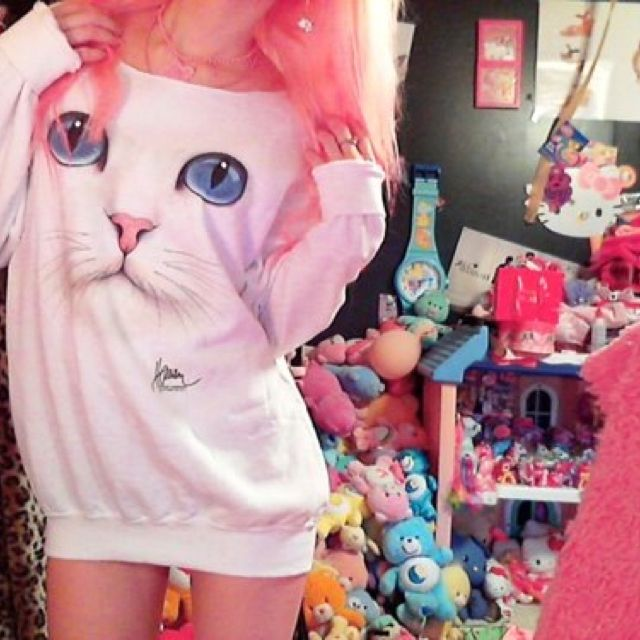 Cute kitty sweater