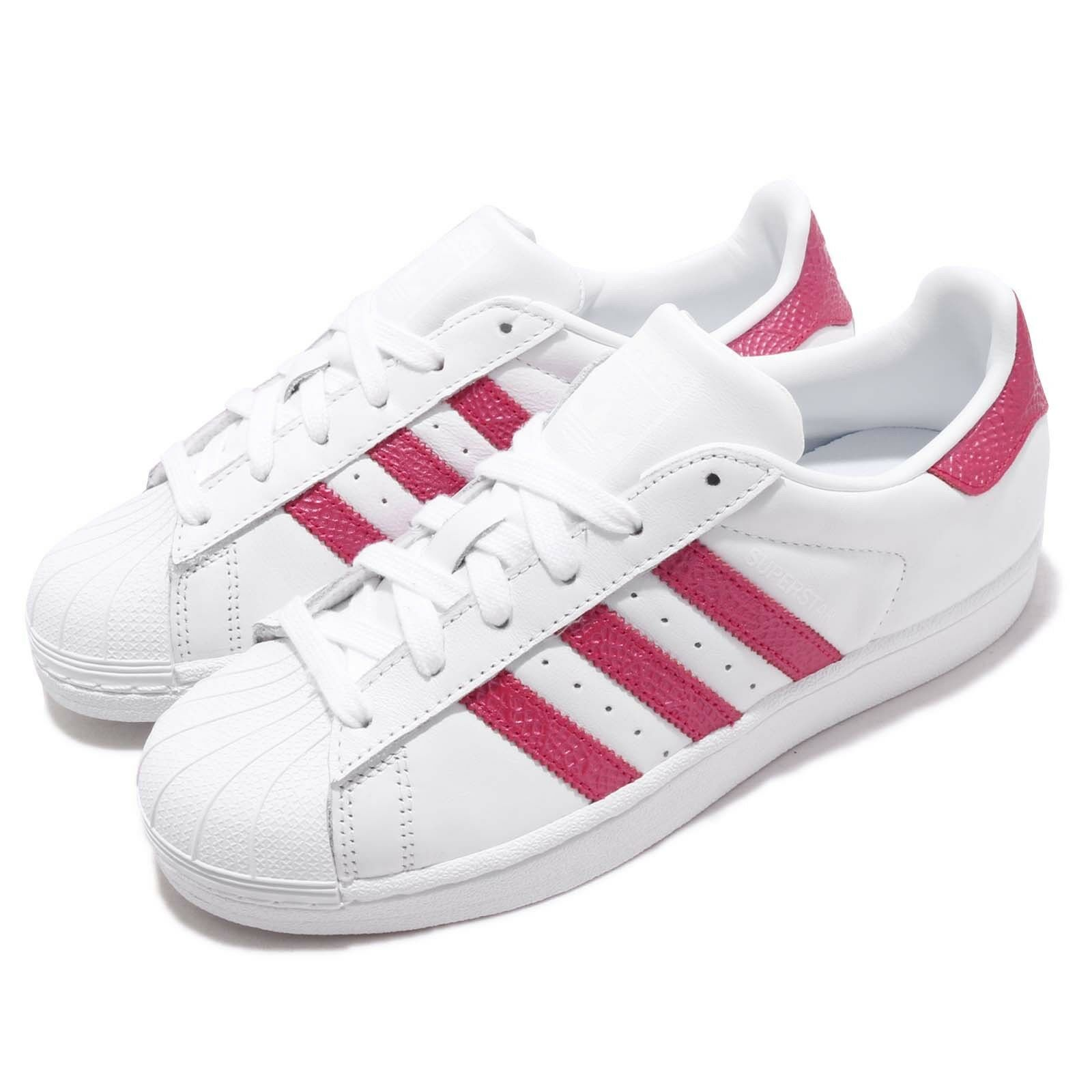 quality products low cost clearance sale adidas Originals Superstar W White Pink Women Casual Shoes ...
