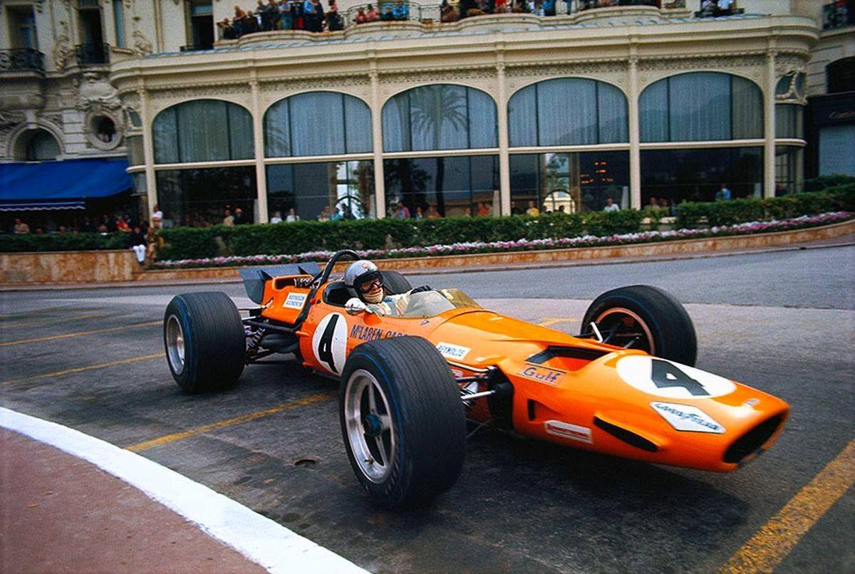 1969 Bruce Mclaren Mc Laren Rmula 1 - 1960 Automoblie Club De Monaco