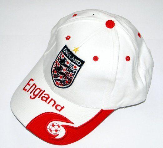 World Cup Soccer Team England ADULT Home SOCCER CAP