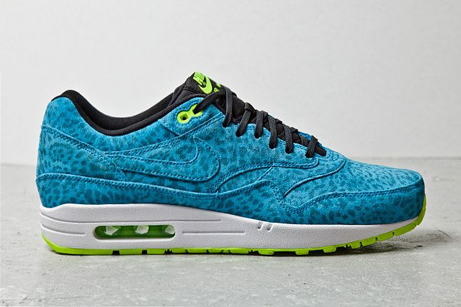 Nike Air Max 1 Blue Leopard