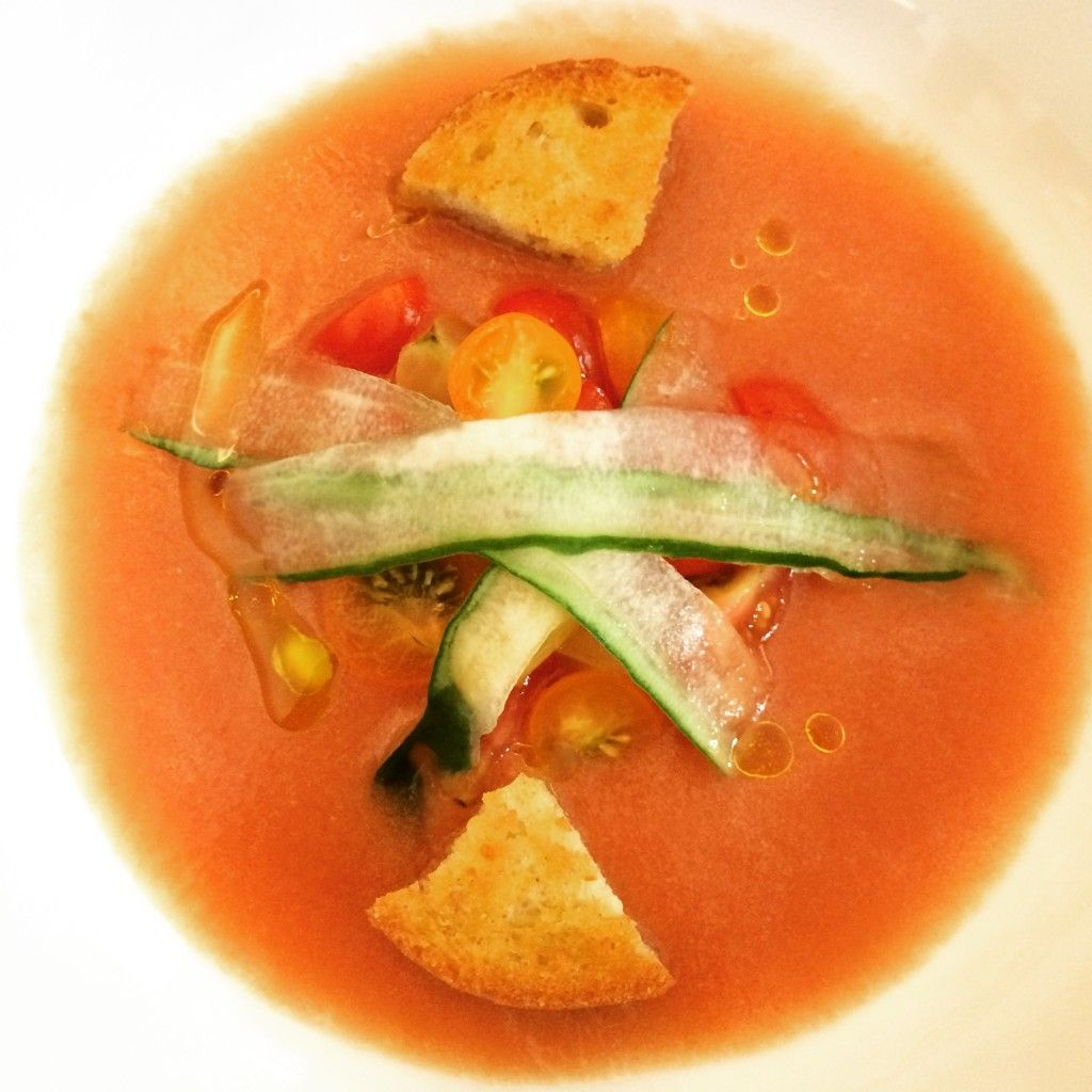 Gazpacho - Love & Porc #summer #vegetarian #tomato #coldsoup