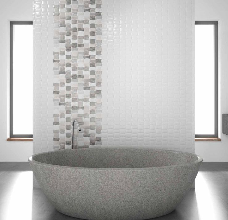 Apdailos Namai   Patterned Tiles/ Wavy Tiles/ Banguotos Plyteles Sienoms/  Infinity Kolekcija/
