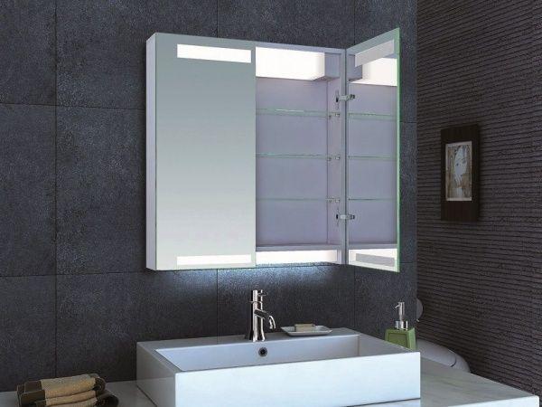 led lampe ideen spiegelschrank badezimmer | Hillenmayer | Pinterest ...