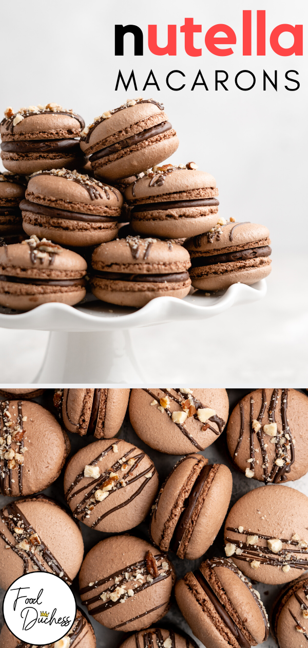 Nutella Macarons - Food Duchess