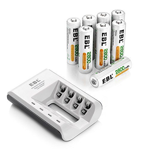 Robot Check Aaa Battery Charger Rechargeable Batteries Battery Charger