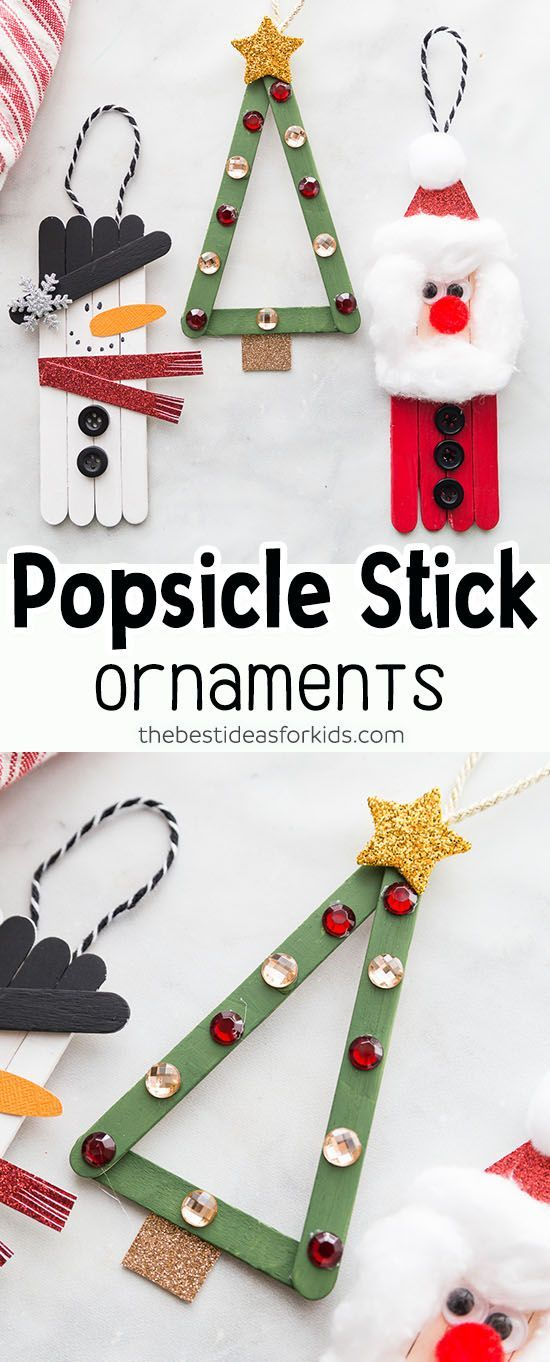 Photo of Popsicle Stick Christmas Crafts – The Best Ideas for Kids