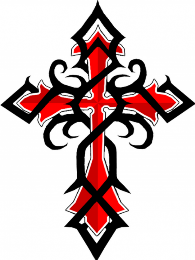 Inspiring Pictures Of Black Red Celtic Cross Tattoos You Can Use