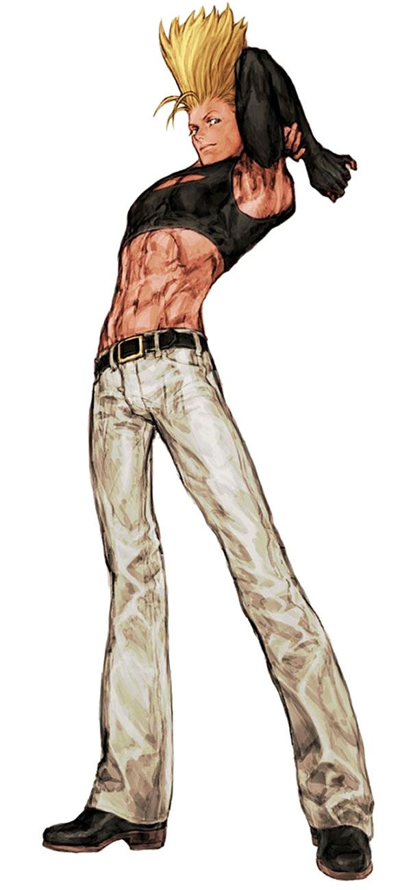 Benimaru nikaido king of fighters pictures characters art capcom vs snk games vs - King of fighters characters pictures ...