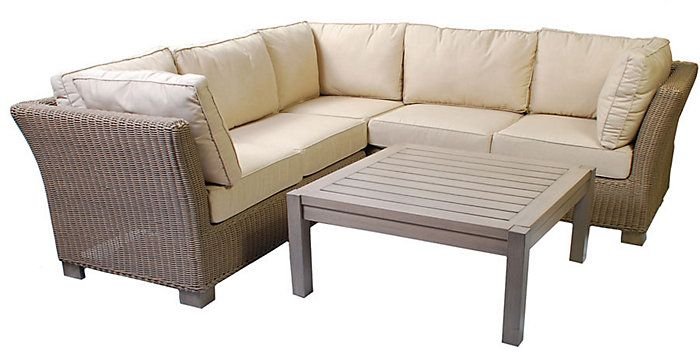 Garden Furniture Outlet · Backyard Furniture · Parker James Alyssa 4 Piece  Sectional Set - Parker James Outdoor Furniture - Prabhakarreddy.com -
