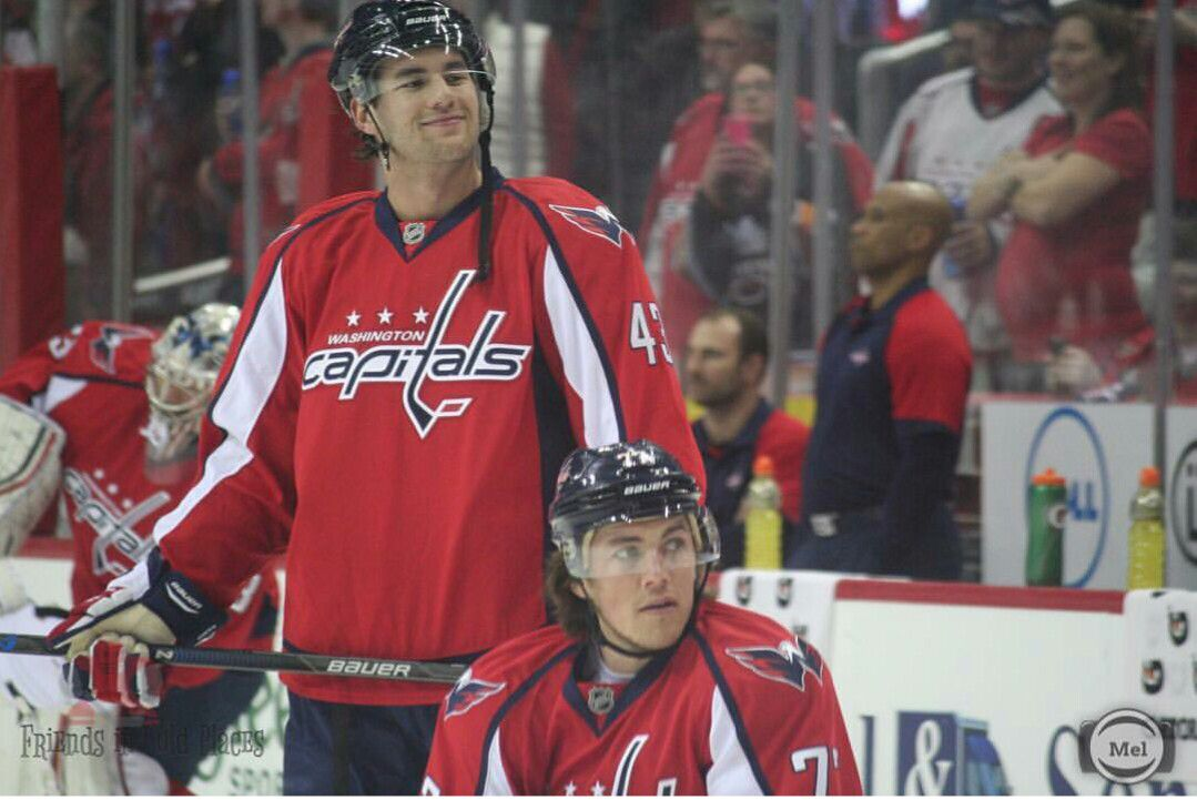 best loved ac0f4 bd1ad Tom Wilson & TJ Oshie. They look so sweet, but really are ...