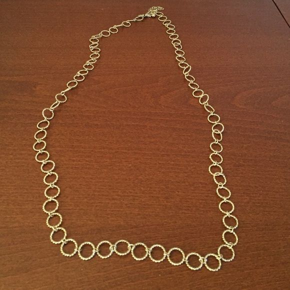 Gold Chain Link Necklace BR Necklace Banana Republic Jewelry Necklaces