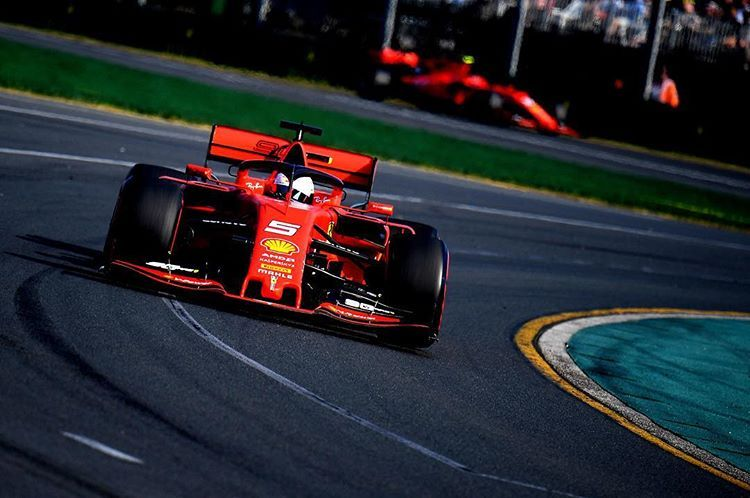 Not the perfect start for the 2019 seaso Ferrari, Racing
