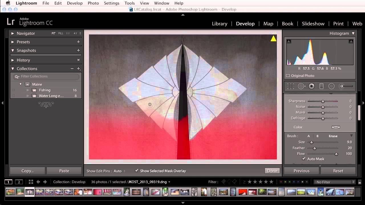 Duplicate a photo in lightroom