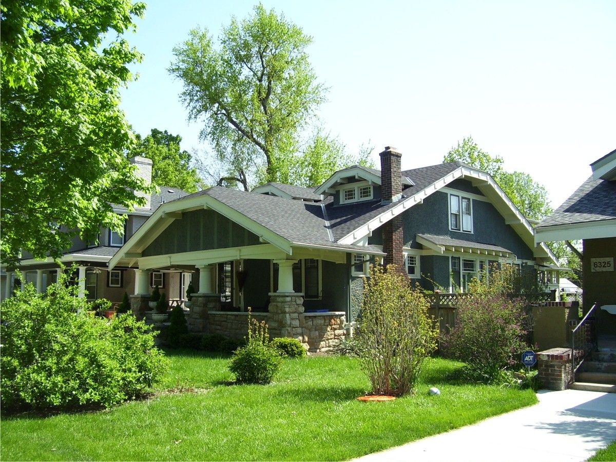 Kansas City Bungalow Bungalow Homes Bungalow House Styles
