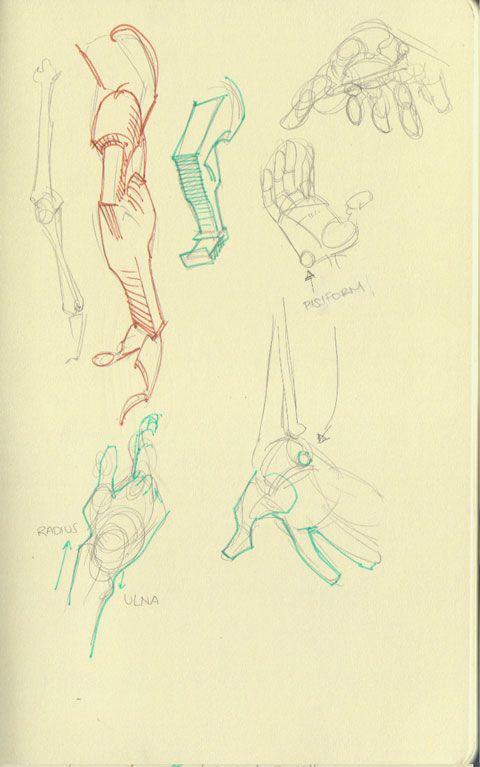 Mari Arakaki explique comment dessiner l\'anatomie humaine ...