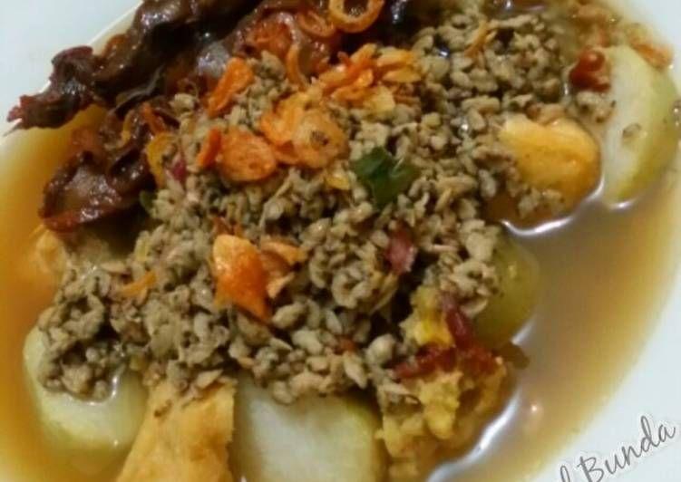 Resep Lontong Kupang Surabaya Oleh Nia Syifa Resep Resep Masakan Indonesia Resep Masakan Resep