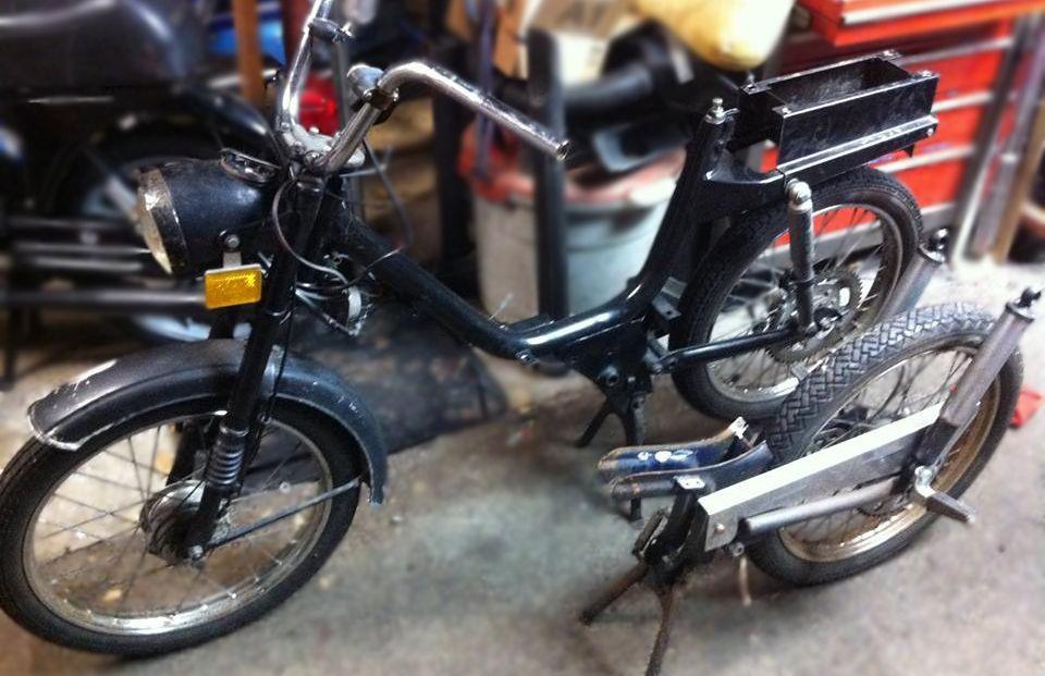 Custom Mopeds Moped Custom Moped Vintage Moped