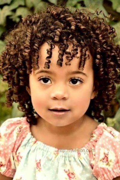 Miraculous 1000 Images About Little Girls Curly Hairstyles On Pinterest Hairstyle Inspiration Daily Dogsangcom