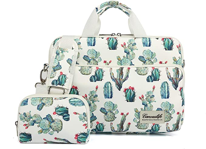Cacti and Succulents Laptop Sleeve Case 15 15.6 Inch Briefcase Cover Protective Notebook Laptop Bag