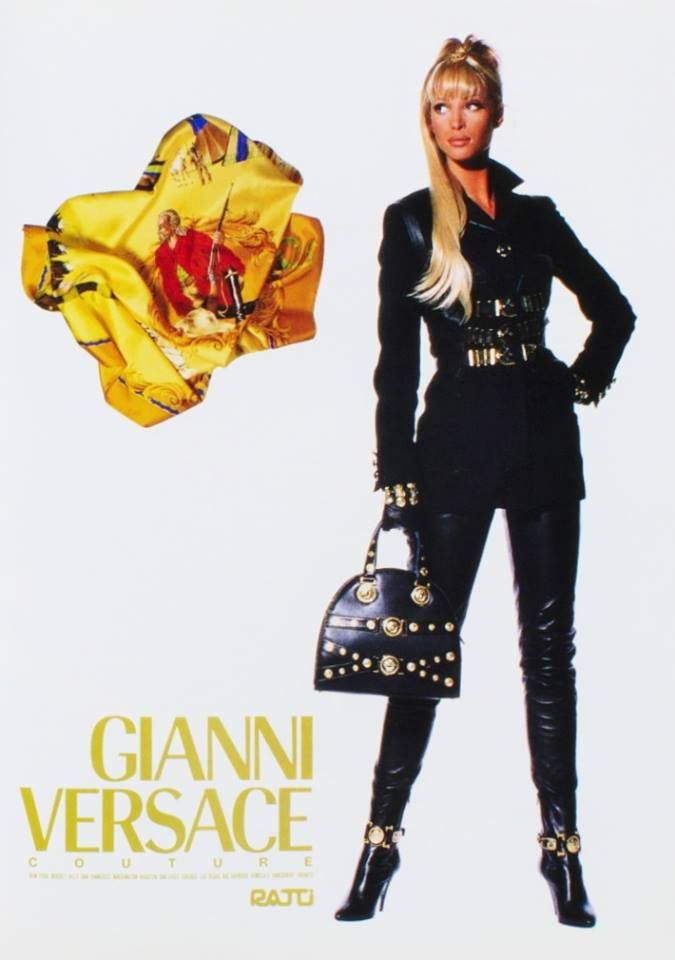 Christy Turlington for Gianni Versace 1992