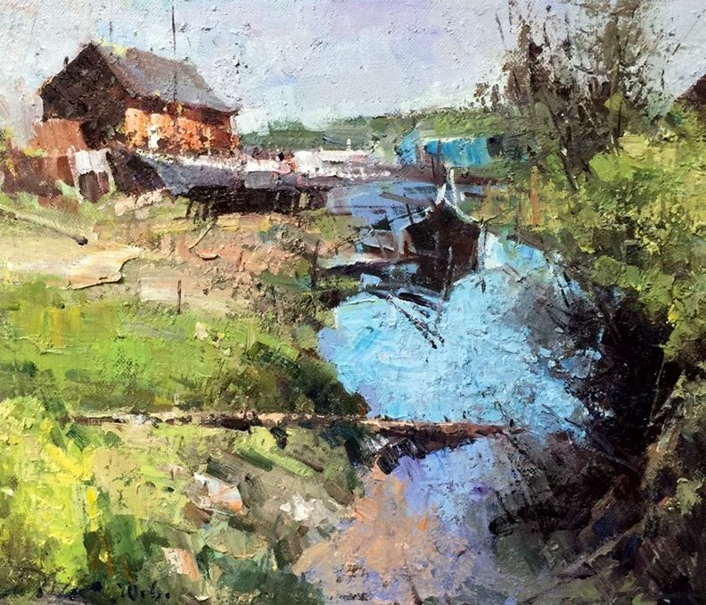 Jove Wang Waterhouse Gallery Original Oil Figurative Still Life Landscape Landscape Paintings Landscape Artwork Oil Painting Landscape