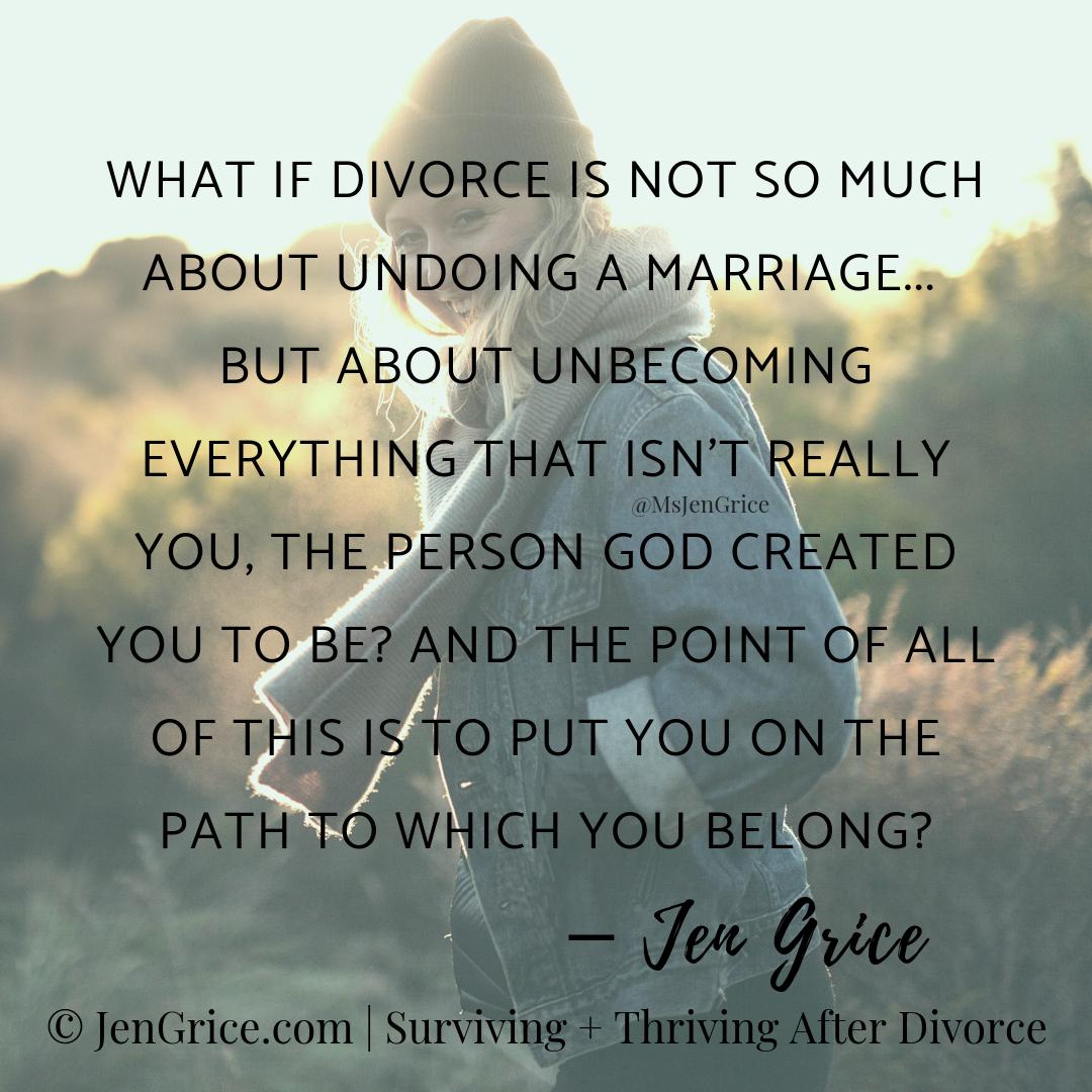 Jen Grice | Surviving + Thriving After Divorce