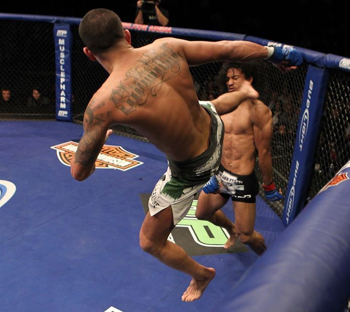 The Now Famous Anthony Pettet Up The Fence Face Kick On Ben Henson Ufc Mma Ufc Fighters