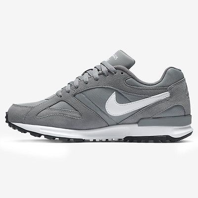 ef479ab89d55 Nike Air Pegasus New Racer Mens 705172-011 Grey White Running Shoes Size 8