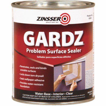 Free Shipping Buy Gardz Damaged Drywall Sealer At Walmart Com Wall Sealer Painting Over Wallpaper Sealer