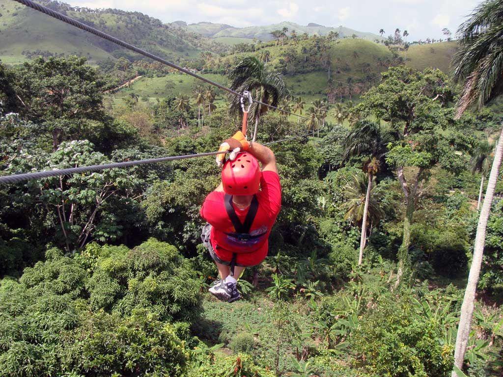Zip Lining Punt Cana Did It Ziplining Punta Cana Travel Spot