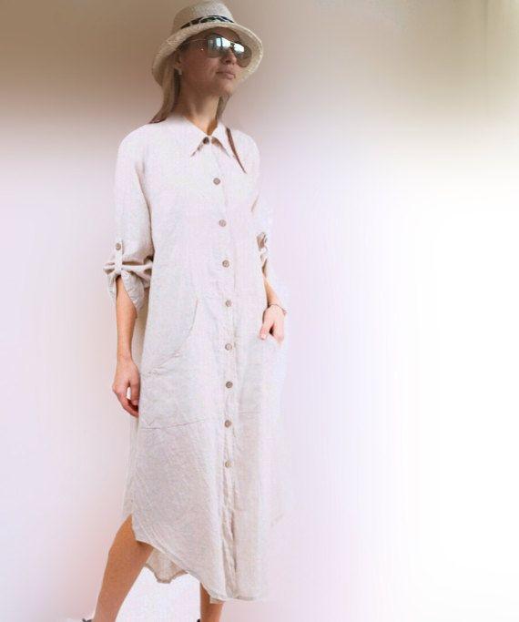 Linen Dress Long Sleeve Dress Dresses For Women Black Etsy Long Linen Dress Womens Dresses Clothes For Women