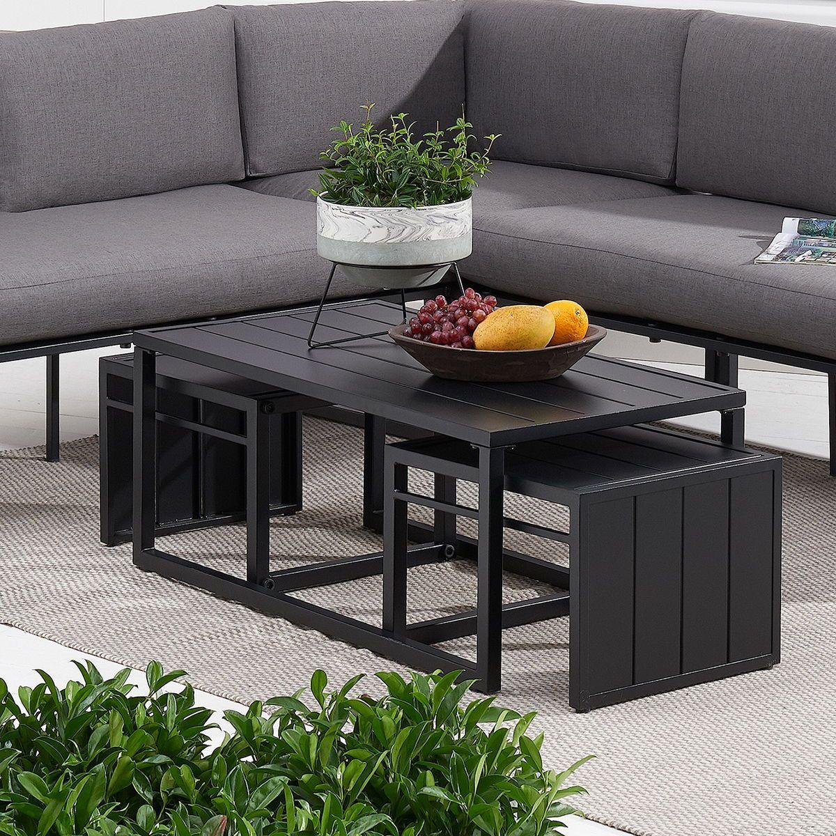 kolton 3 piece patio nesting table set
