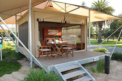 Eco Tents Family C&ing The shores Caravan Park Adelaide & Eco Tents Family Camping The shores Caravan Park Adelaide ...