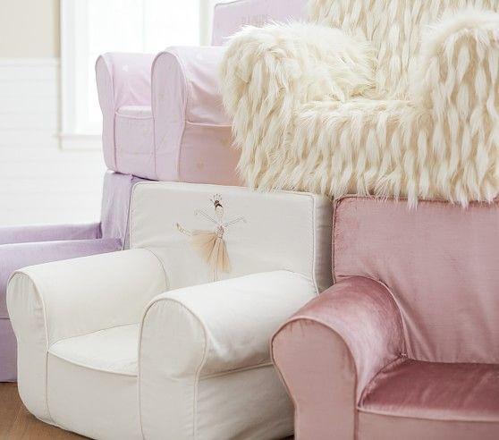 Pleasing Shimmer Velvet Dusty Blush Anywhere Chair Pottery Barn Uwap Interior Chair Design Uwaporg