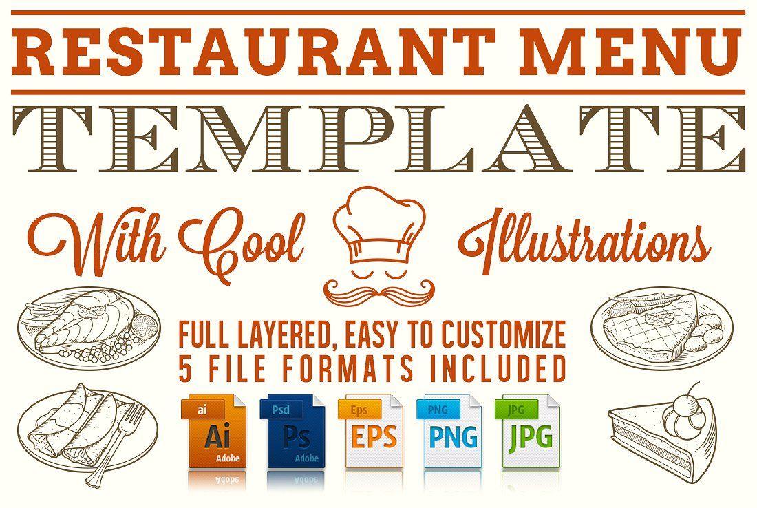 50 Best Restaurant Menu Templates Both Paid And Free Restaurant