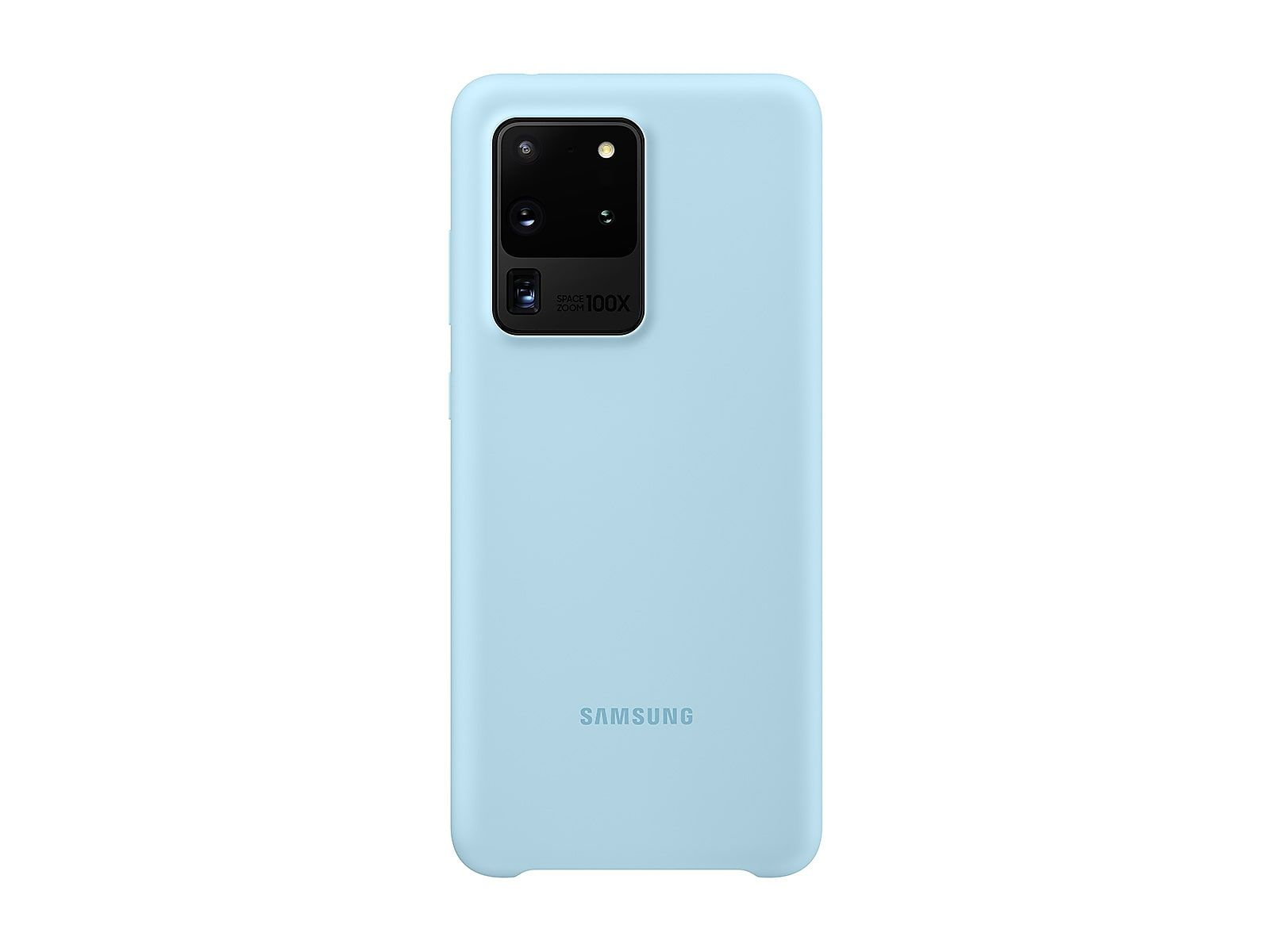 Galaxy S20 Ultra 5G Silicone cover Blue Mobile Accessories - EF-PG988TLEGUS | Samsung US