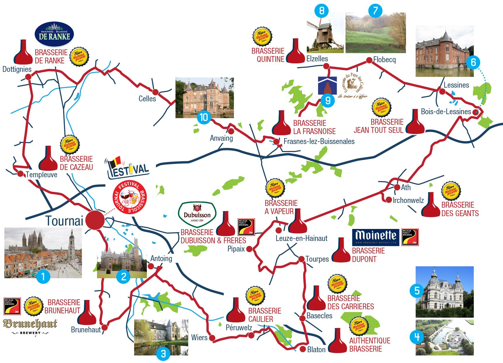 Image result for Beer Routes for tourists in belgium