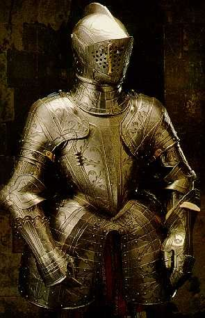 Armor for the tilt of Robert Dudley, Earl of Leicester, c. 1575.