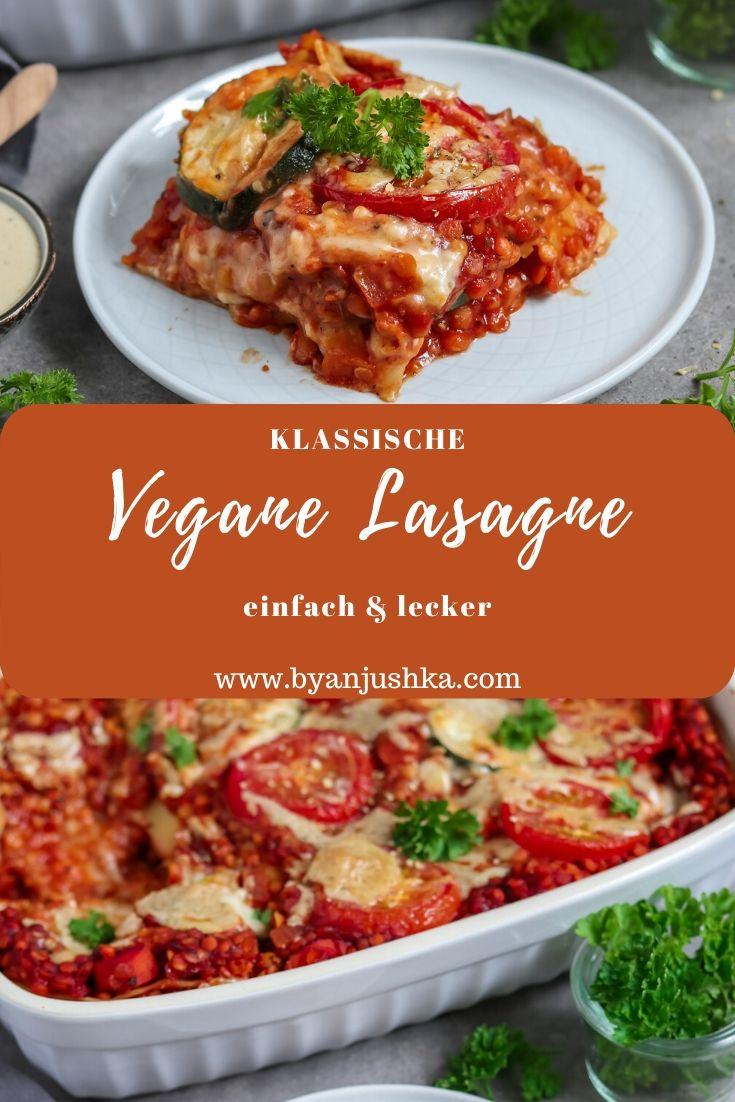 Photo of Klassische vegane Lasagna