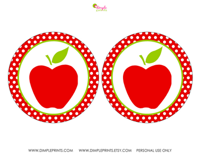 graphic about Printable Apple Pictures known as cost-free printable apple status tags for preschool  totally free