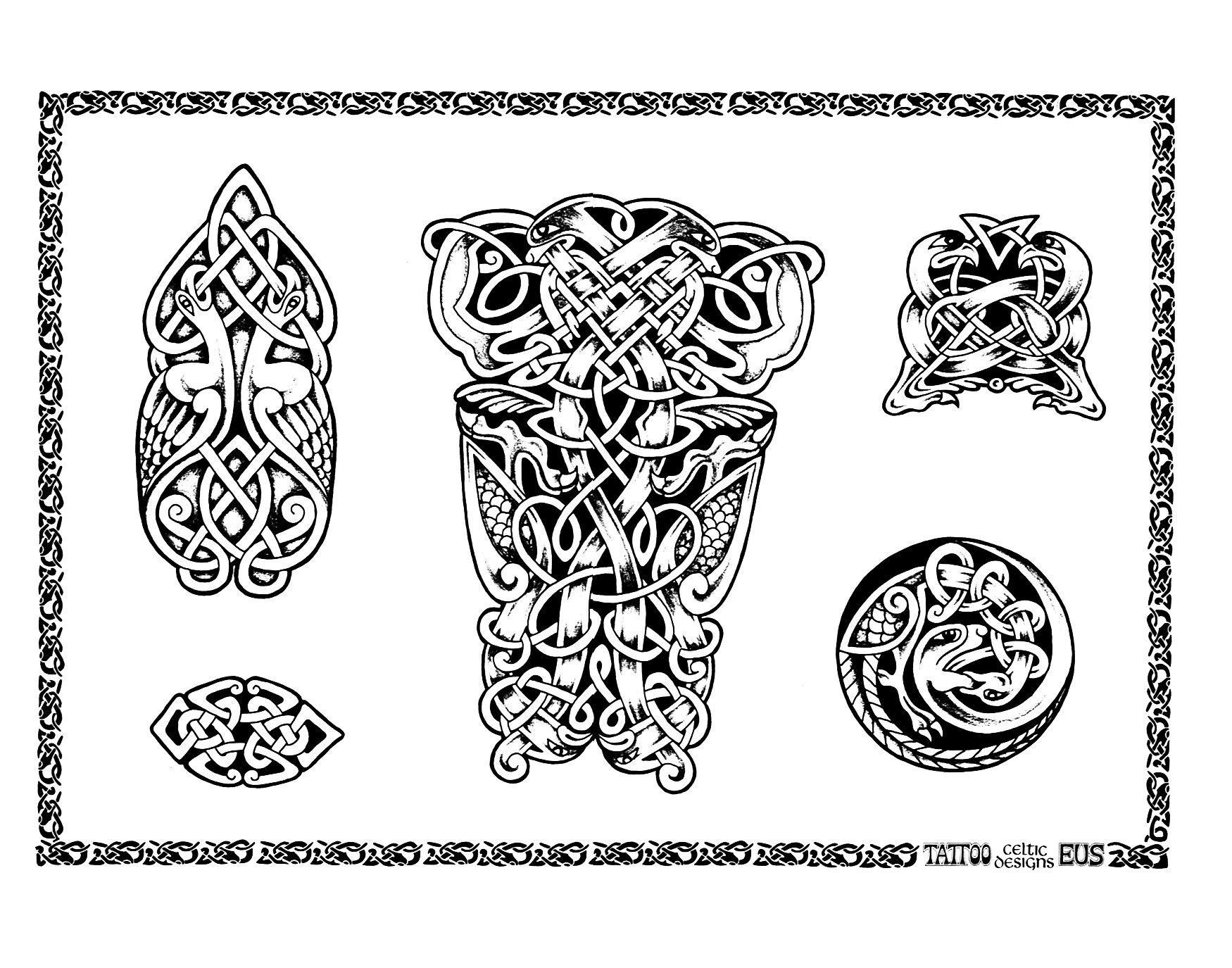 Всем настроения, старорусские картинки тату
