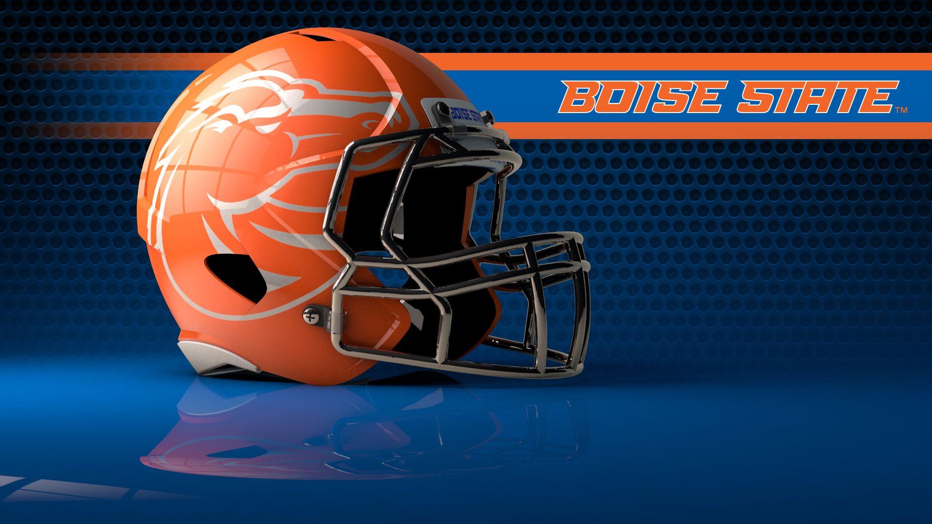 Pin By Travis On My Teams Football Helmets Football Boise State Football