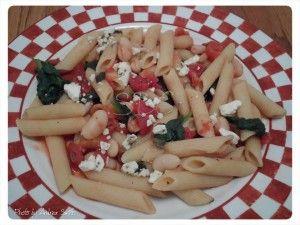 Greek Pasta www.livehealthywithpatty.com