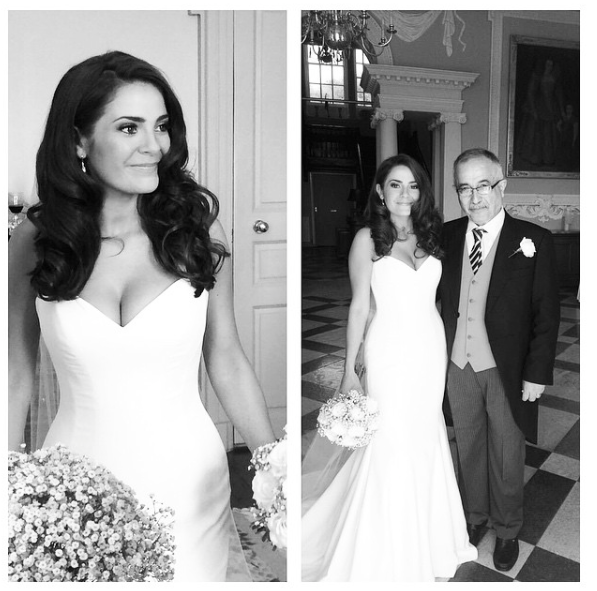 Real Brides Suzanne Neville: Beautiful Real Bride Anusheh Wearing Suzanne Neville
