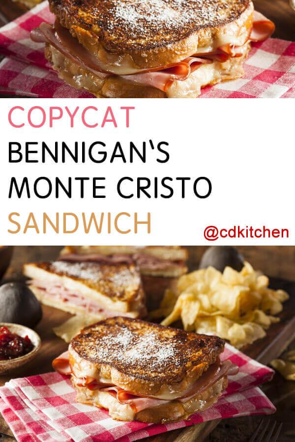 Copycat Bennigan's Monte Cristo Recipe | CDKitchen.com