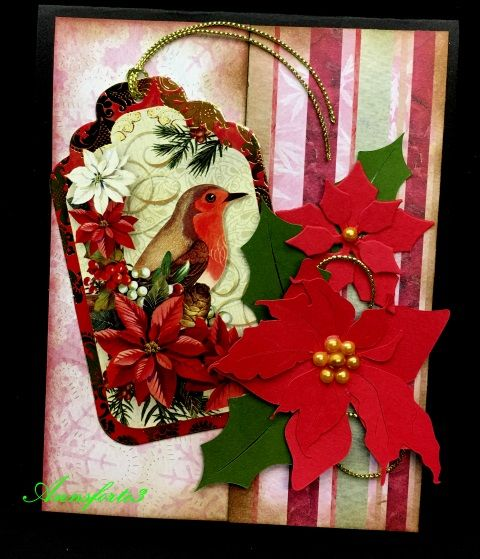 SC623, CCC17MAR, Christmas Flowers by annsforte3 - Cards and Paper Crafts at Splitcoaststampers