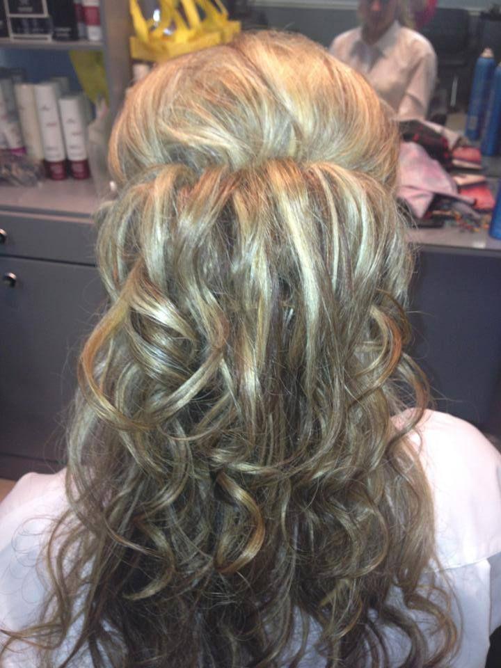 Back Shot of Amazing Wedding Hair